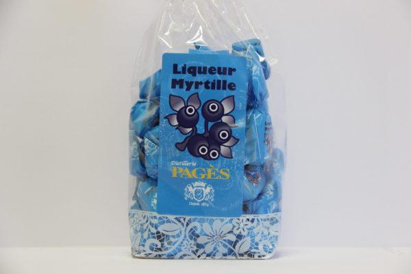 Bonbons à la myrtille 165 grammes
