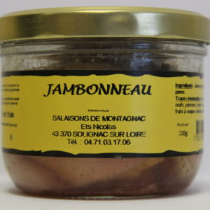 Jambonnaux en gelée 330 grammes